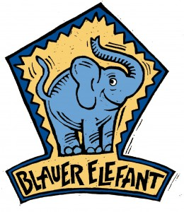 BlauerElefant Logo