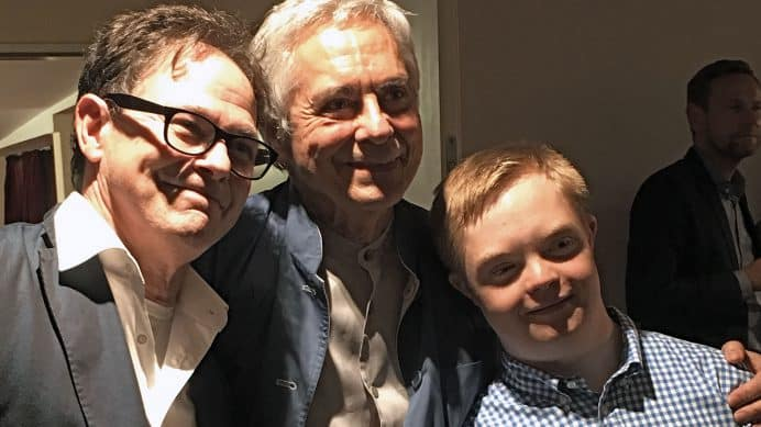 Julius mit John Neumeier und Kevin Hagen