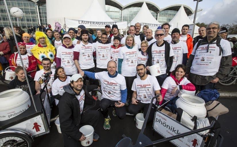 Marathon 2017 Spenderlauf phönikks