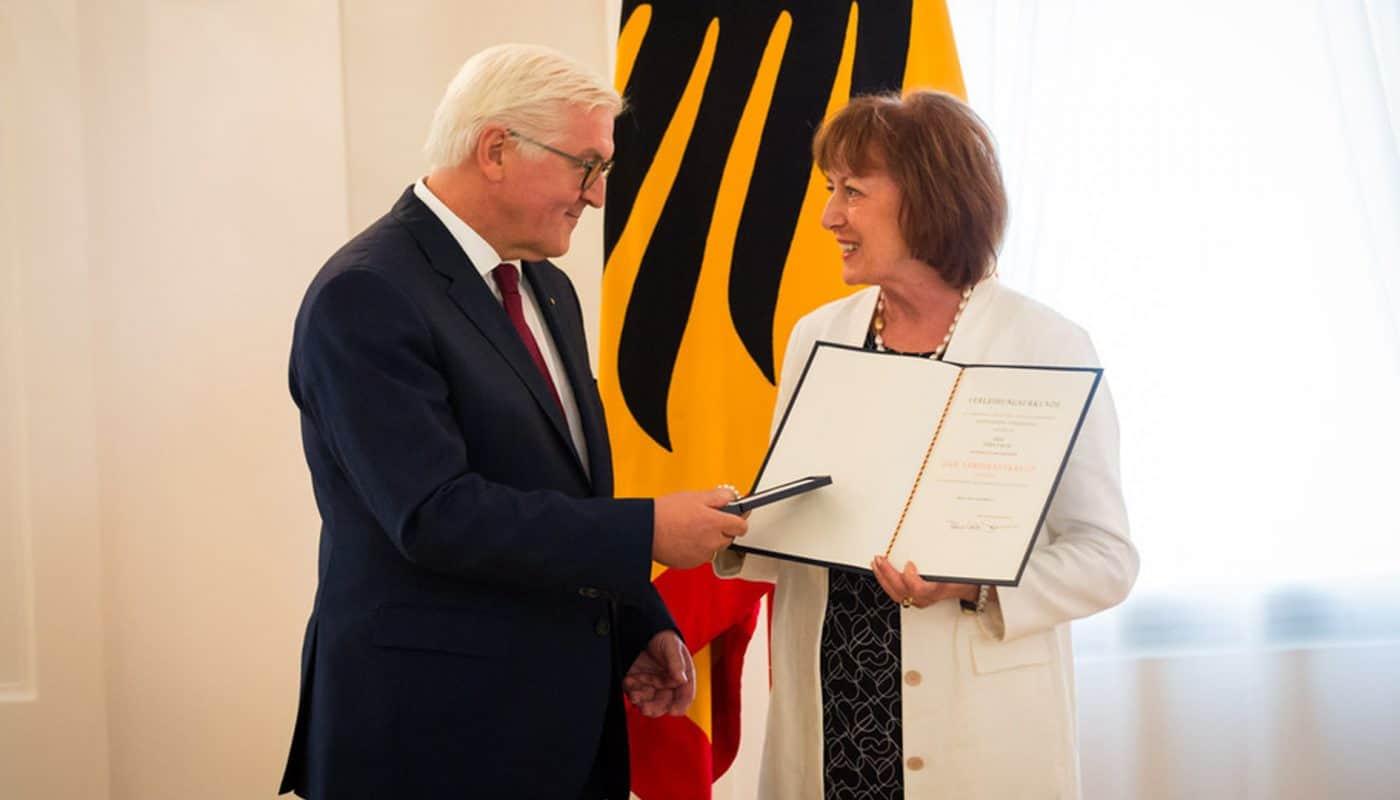 Herr Frank-Walter Steinmeier und Frau Vera Falck