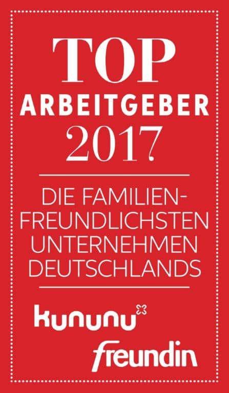 2017_Deutschlands familienfreundlichste AG_Siegel