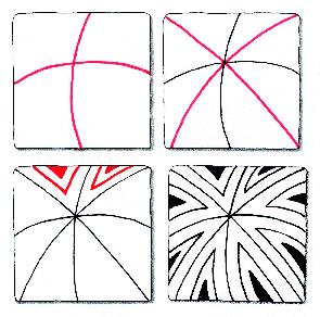 Zentangle: In wenigen Schritten zum Muster (Quelle: Wiki Commons)